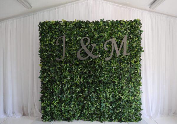 Wild flower wall, foilage flower wall, venue styling, wedding decor, wedding inspiration, Northern Ireland, Ireland, Fermanagh weddings