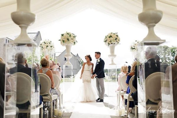 wedding ceremony northern ireland ennsikillen fermanagh inspiration hire ni decor n. ireland outdoor lough erne