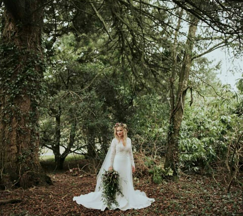 Wild wedding bouquet woodland rustic foliage Co.Fermanagh