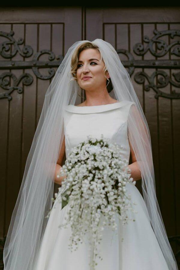 wedding ceremony northern ireland enniskillen fermanagh inspiration hire ni decor n.ireland silk lily of the valley
