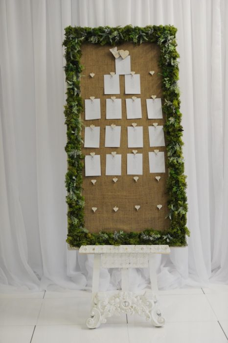 McGarry Flowers Wedding Welcome Signs