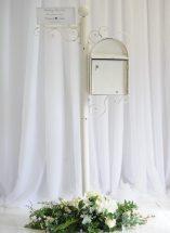 McGarry Flowers Wedding Floor Pedastal