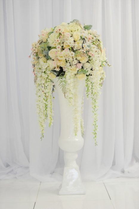 McGarry Flowers Wedding Floor Pedastal