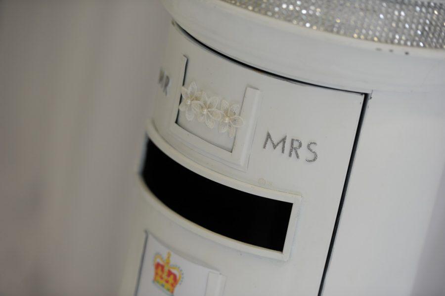 Wedding post boxes, wedding venue decor ideas, wedding ideas, wedding stylists northern ireland