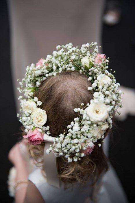 wedding ceremony northern ireland enniskillen fermanagh inspiration hire ni decor n.ireland flower girls crown