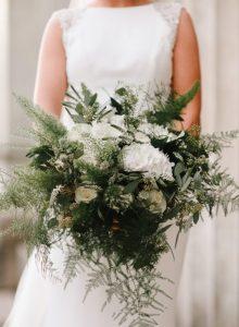 wedding ceremony northern ireland enniskillen fermanagh inspiration hire ni decor n.ireland wild bridal bouquet