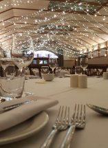 wedding ceremony northern ireland enniskillen fermanagh inspiration hire ni decor n.ireland fairylights lustybeg
