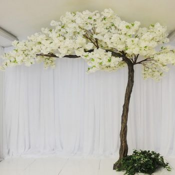 wedding floral canopy tree ceremony decor Fermanagh Northern Ireland