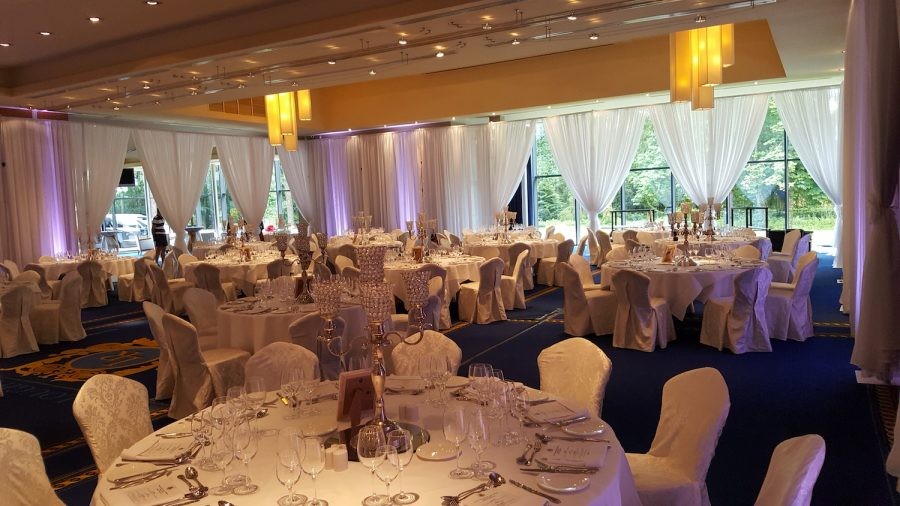 lough rynn room draping leitrim wedding