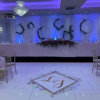 personalised dance floor