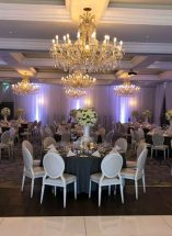 room draping lough erne resort n.ireland wedding