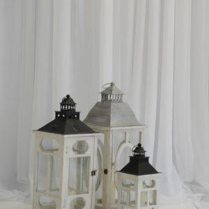 white mixed lanterns