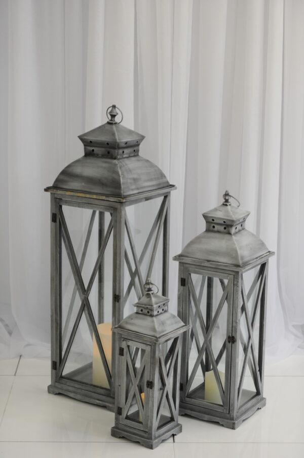 slate lanterns