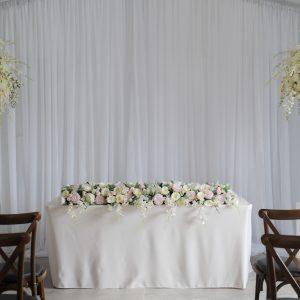 Blush Display With Pearl Plinth