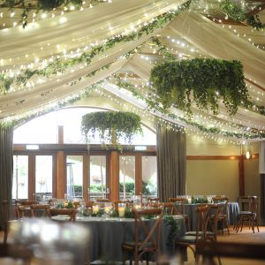 hanging foliage chandelliers