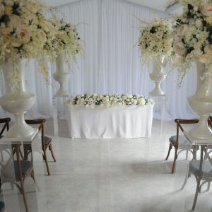 Floral Display with luxury urn 21