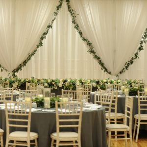 Luxury Foliage Lined Backdrop