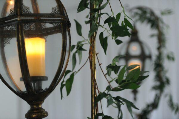 Tall moroccan lanterns