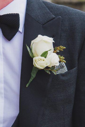 buttonhole mcgarry wedding design